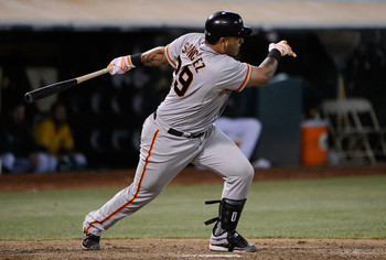 Bruce Bochy must soon decide what role he wants Hector Sanchez to play.