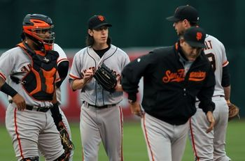 If Tim Lincecum can get back into form, the Giants won't need any heroics from the rest of their lineup.