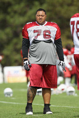 Lutui has needed some help keeping control of his weight, and a clause in his contract stipulates a maximum weight.