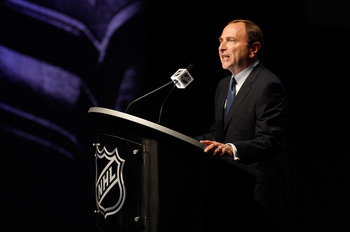 Gary Bettman is the only sports commissioner to lose a full season to a work stoppage.