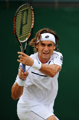 David Ferrer - no grass court specialist