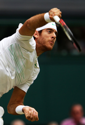 A potential quarterfinal match against Juan Martin del Potro awaits