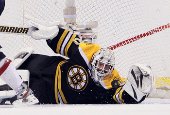 While the rest of the Bruins went to the White House, Thomas refused to go.