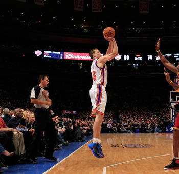 Steve Novak's combination of height and shooting skills make him tough to defend.