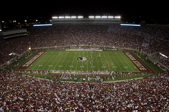 FSU begins their 2012 season with their first four games at home.