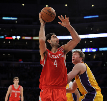 Luis Scola is a solid rebounder but the Rockets need more in the middle.