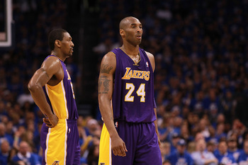 If Kobe is looking for more help from his teammates, he's probably not getting it in the 2012 NBA Draft.