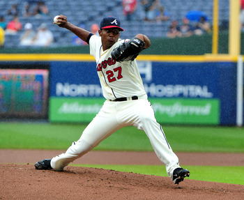 Julio Teheran just doesn't have the feel of a pitcher that will help the Braves win right now.
