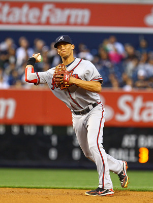 Young Andrelton Simmons could help Medlen, who has a tendency to get ground balls.
