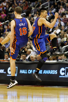 Steve Novak and Jeremy Lin