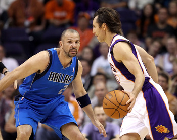 Jason Kidd and Steve Nash