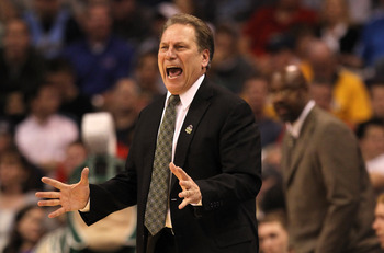 Michigan State coach Tom Izzo