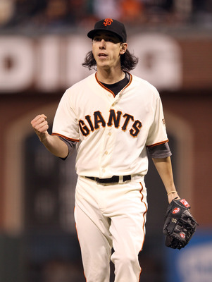 Tim Lincecum is fired up