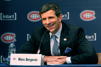 The pressure on Marc Bergevin will begin immediately.