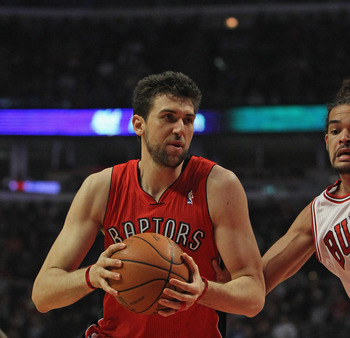 Andrea Bargnani just doesn't rebound enough for a player his size.