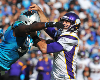 Charles Johnson (95) is out to terrorize quarterbacks in 2012.