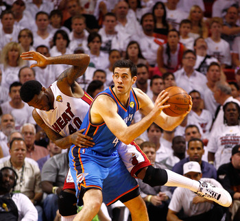 Nick Collison has been a dependable back-up for years.