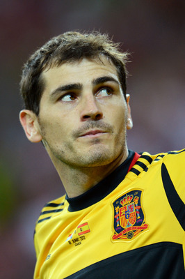 Spain Goalkeeper Iker Casillas
