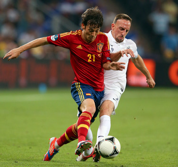 Spain Midfielder David Silva