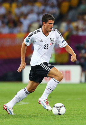 Germany Striker Mario Gomez