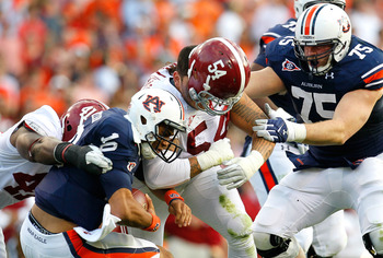 Williams is an unstoppable force on the Crimson Tide's defensive line.