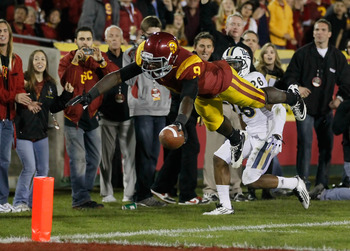 Lee is one of the best WRs in the nation and a standout on USC's track and field team.