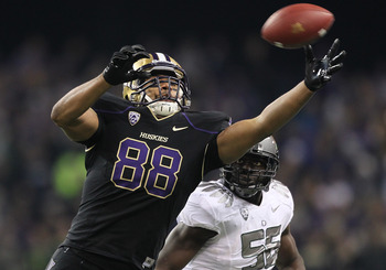 Seferian-Jenkins is one of the top TEs in the nation and a power forward on the Huskies basketball team.