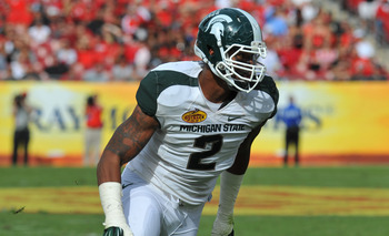Gholston is an integral part of Michigan State's defense, which was statistically the best in the Big Ten a year ago.