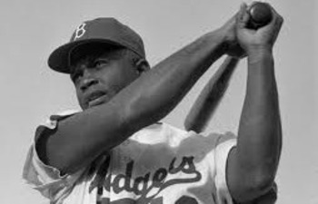 Jackie Robinson refused to put on a Giants jersey.