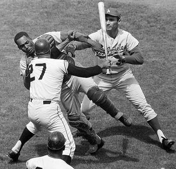 Simply put, Marichal vs. Roseboro.
