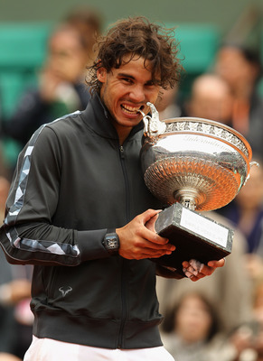 Nadal improved to 52-1 at the 2012 French Open