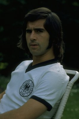 Gerd Muller's two goals against Italy in 1970 added to his legend.