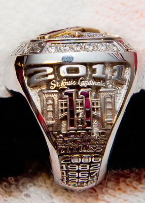 St. Louis Cardinals 2011 World Championship Ring