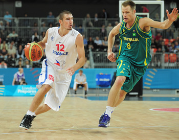 French guard Nando De Colo could give the Spurs another offensive weapon.