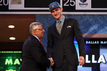 Tyler Zeller will join Kyrie Irving as Duke players on Cleveland's Roster.