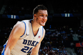Miles Plumlee could be the reach of the draft up to this point.