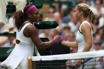 Serena Williams has been in rare form so far at Wimbledon.