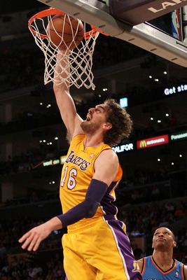Pau Gasol has a big contract that the Lakers would like to unload.