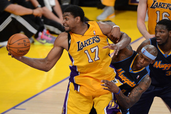 Andrew Bynum may be due for an injury.