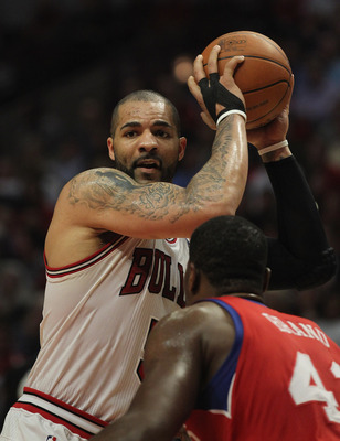 Boozer's underachieving may force the Bulls' hand.