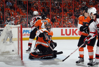 Flyer goalie Ilya Bryzgalov needs some solid work from his backup goaltender.