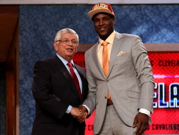 Dion Waiters was a bit of a shock going to Cleveland at No. 4.