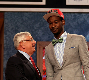 Terrence Ross ended up on the podium a little earlier than expected.