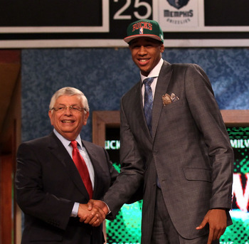 Milwaukee wanted to draft height, and as you can see above, they got it in John Henson.