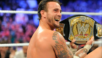 CM Champion (Photo courtesy of WWE.com)