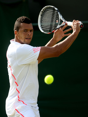 Jo Wifried Tsonga could challenge for the Wimbledon title this year.