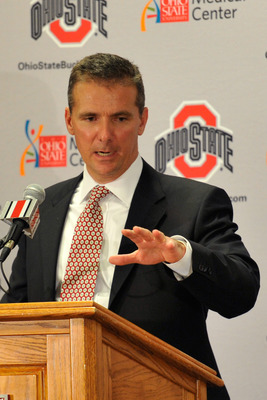 Buckeyes coach Urban Meyer
