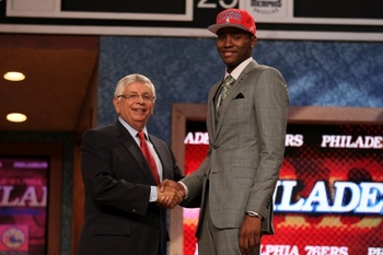 The 15th overall pick, Maurice Harkless.