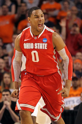 The 21st overall pick, Jared Sullinger.