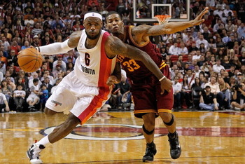 LeBron against the Cavs.